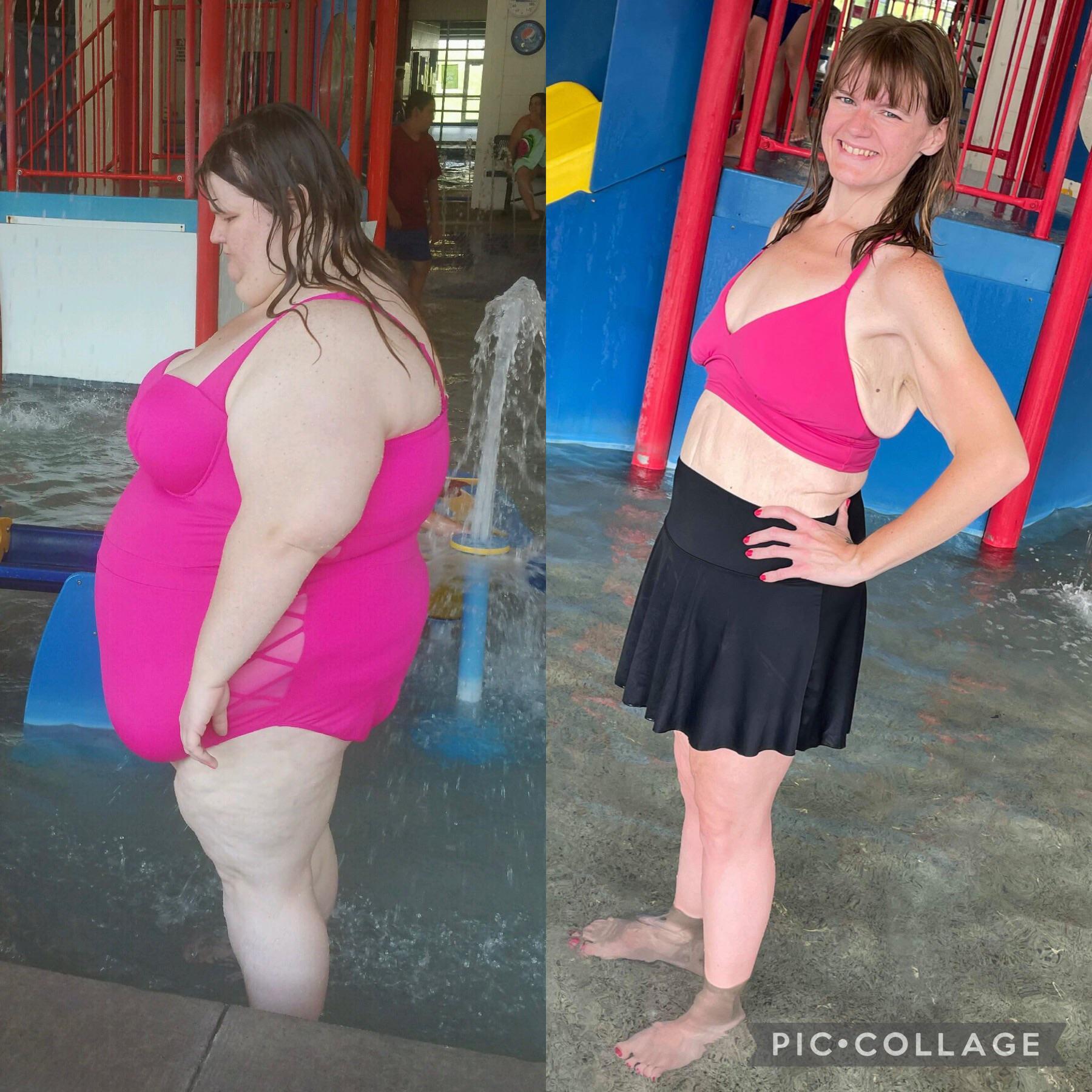 275 lbs Fat Loss 5 feet 6 Female 425 lbs to 150 lbs