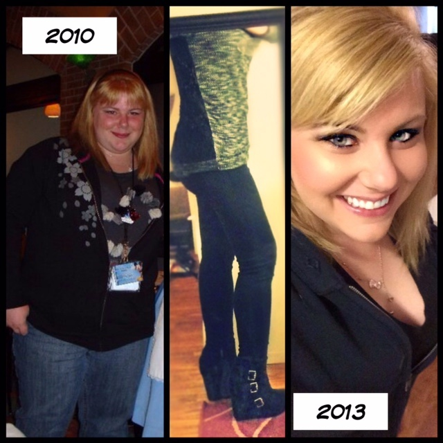 5 feet 2 Female 149 lbs Fat Loss Before and After 303 lbs to 154 lbs