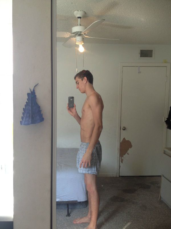 5 Photos of a 132 lbs 5 foot 11 Male Fitness Inspo