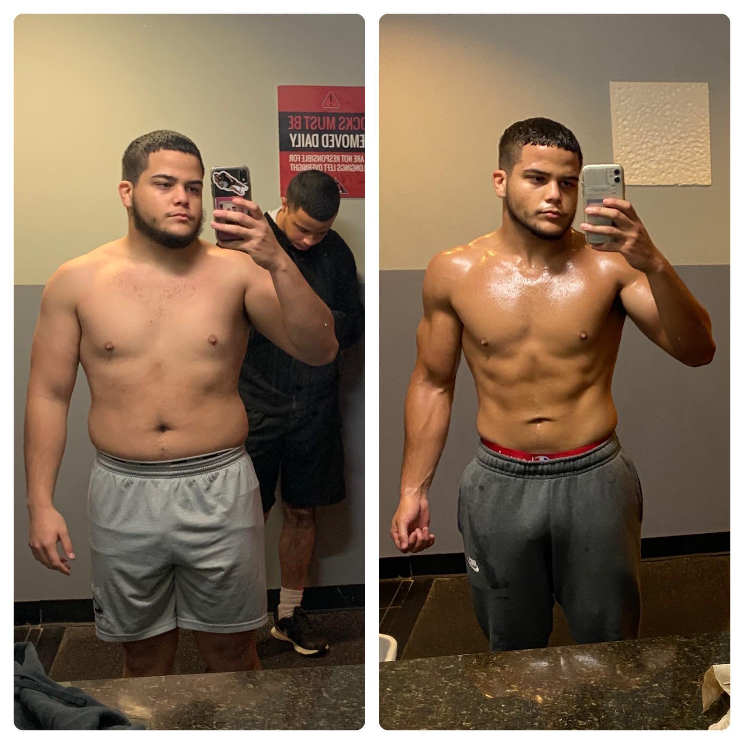 33 lbs Weight Loss 5'5 Male 198 lbs to 165 lbs