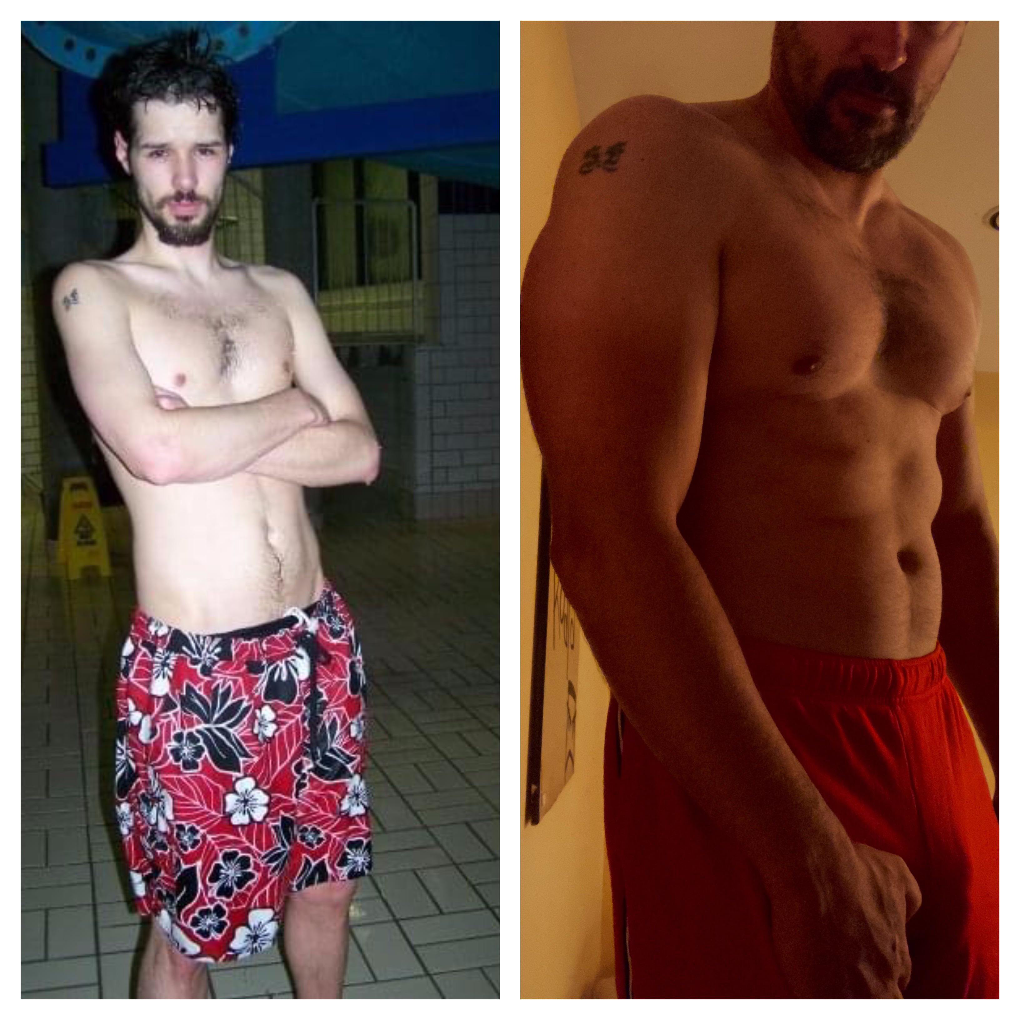 60 lbs Weight Gain 6'4 Male 160 lbs to 220 lbs