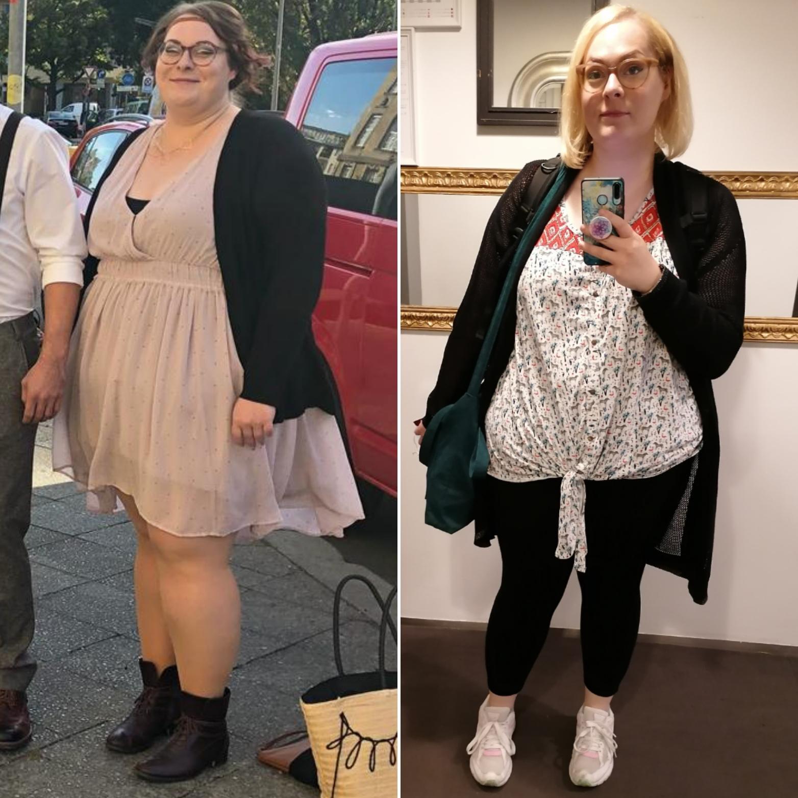 5'8 Female 68 lbs Fat Loss 330 lbs to 262 lbs