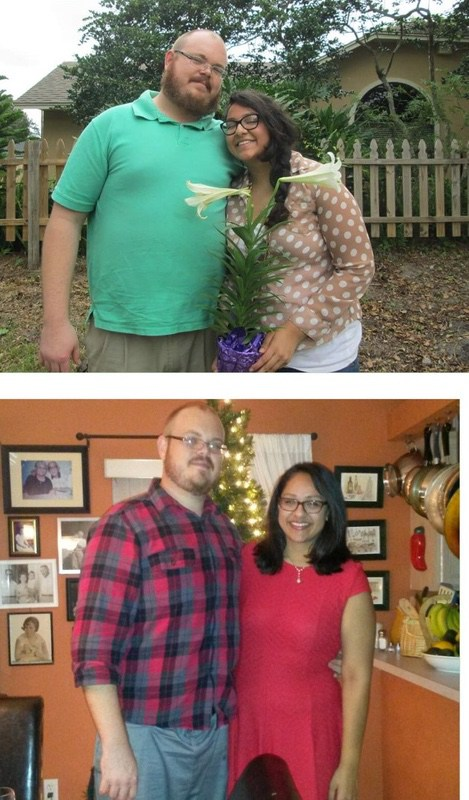 6 feet 7 Male 55 lbs Fat Loss 320 lbs to 265 lbs