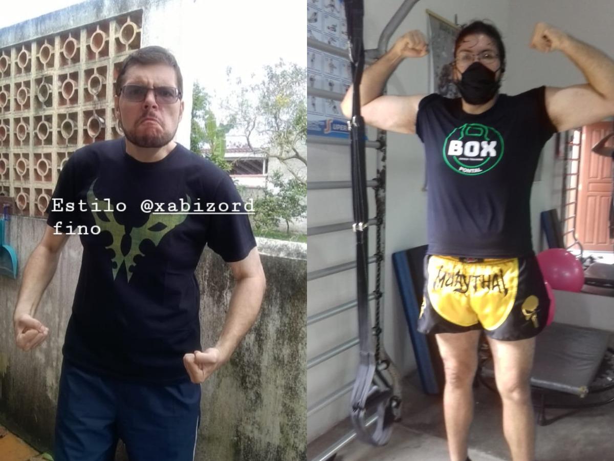 6 foot 5 Male Progress Pics of 44 lbs Weight Gain 198 lbs to 242 lbs