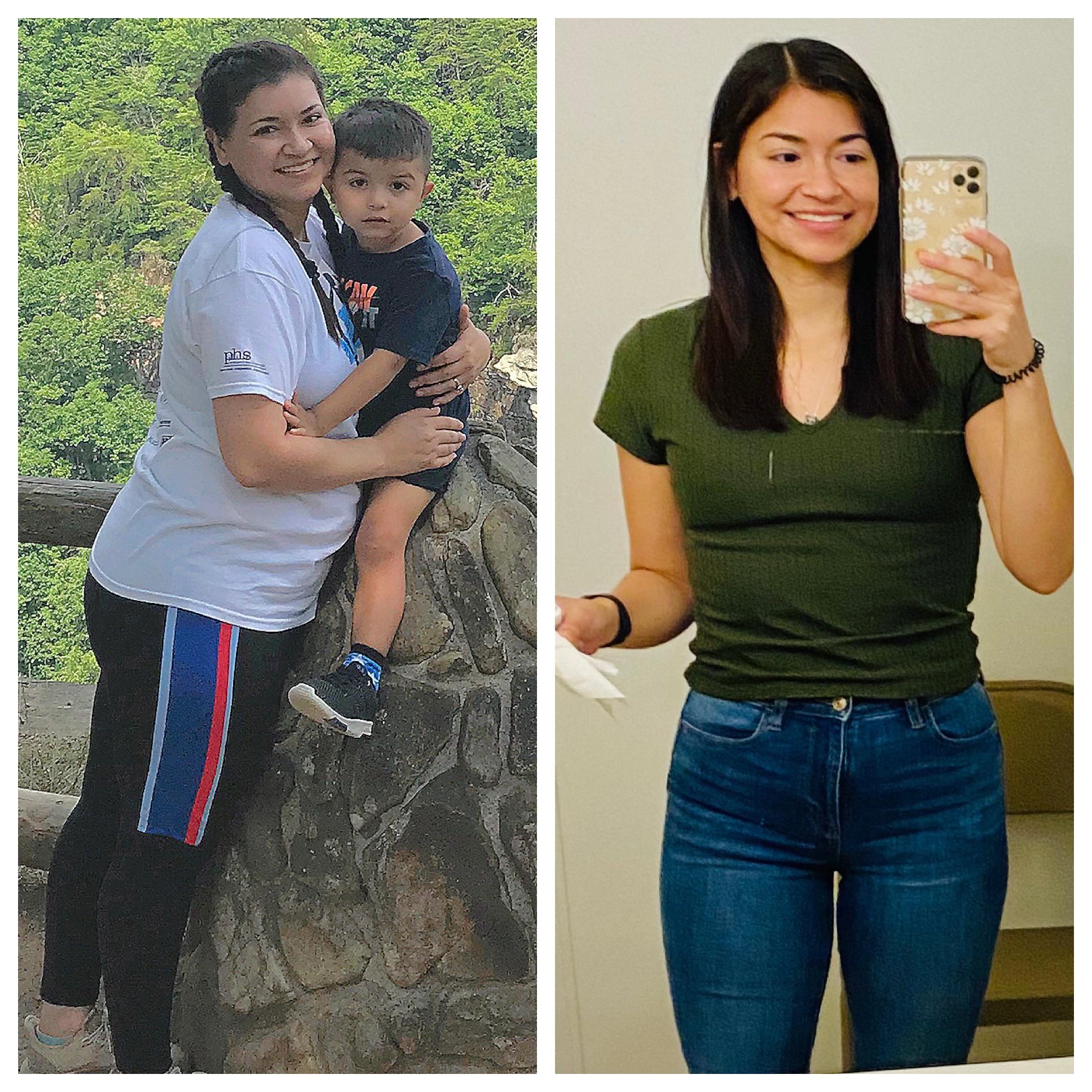 5 foot 5 Female Progress Pics of 60 lbs Weight Loss 200 lbs to 140 lbs