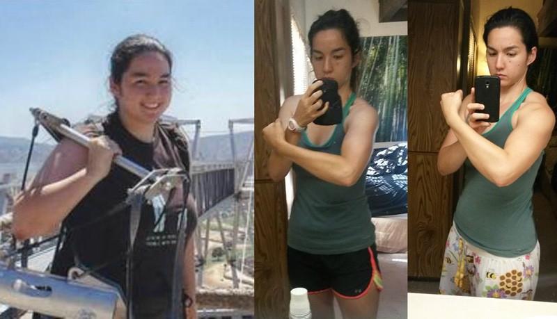 5 foot 10 Female Progress Pics of 100 lbs Weight Loss 255 lbs to 155 lbs