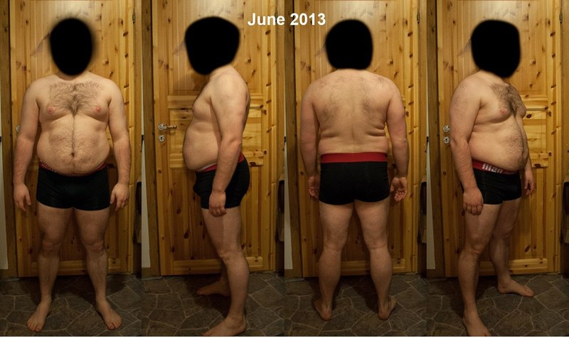 5 feet 4 Male Before and After 38 lbs Fat Loss 214 lbs to 176 lbs