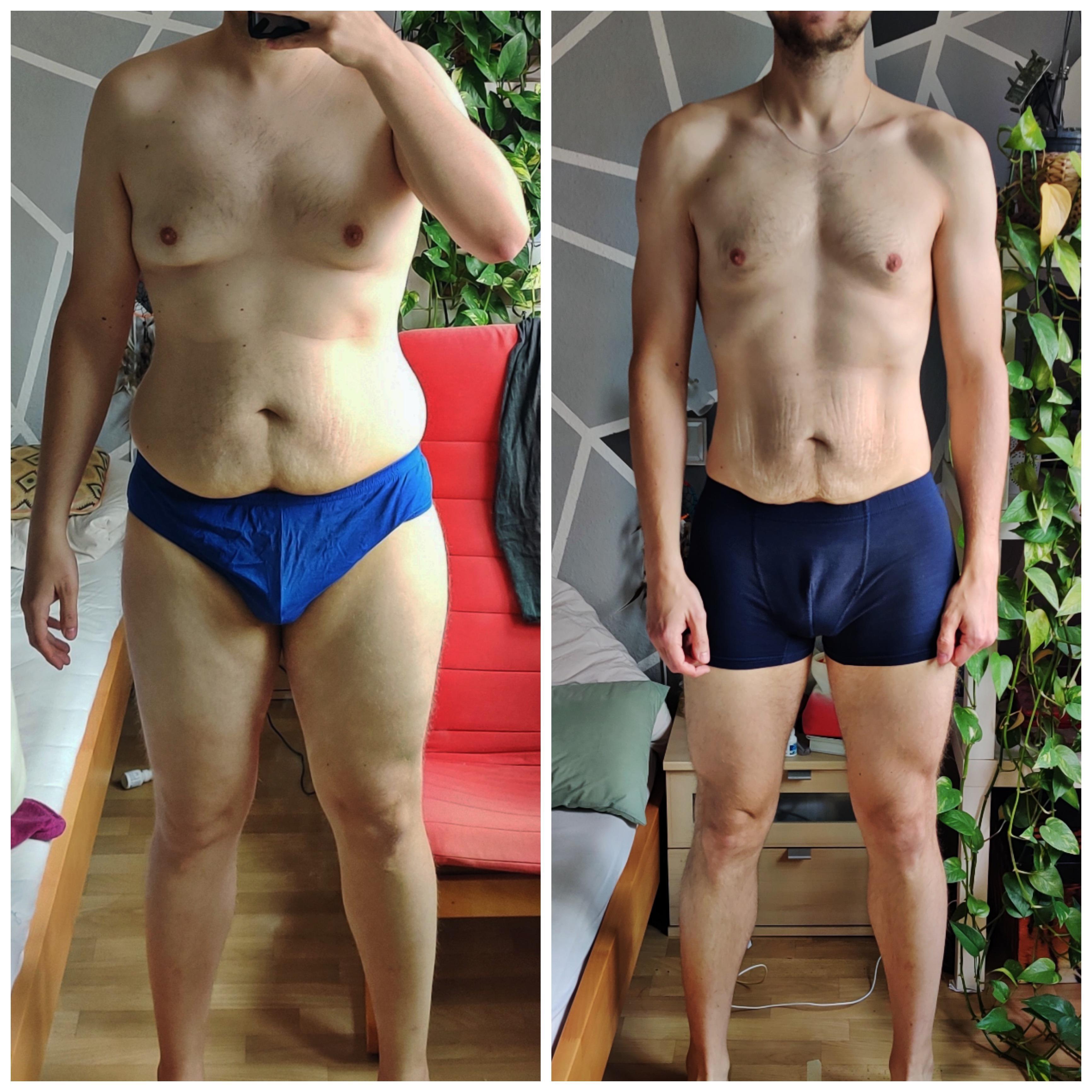 5'11 Male 48 lbs Weight Loss 216 lbs to 168 lbs