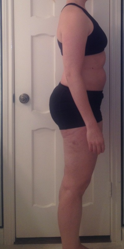 5 Pics of a 183 lbs 5 foot 10 Female Weight Snapshot