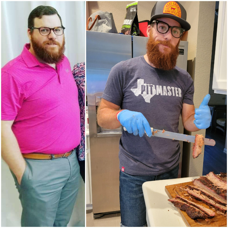 96 lbs Weight Loss 5'11 Male 276 lbs to 180 lbs