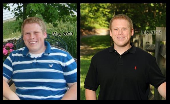 49 lbs Fat Loss 5'6 Male 240 lbs to 191 lbs