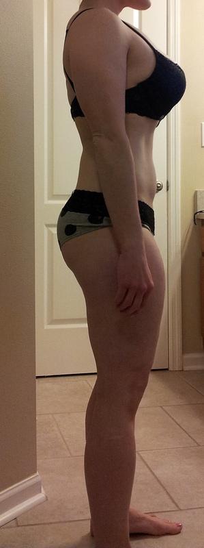 3 Pics of a 5'2 135 lbs Female Fitness Inspo