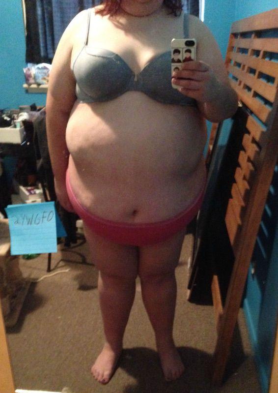 3 Photos of a 5 feet 11 383 lbs Female Weight Snapshot