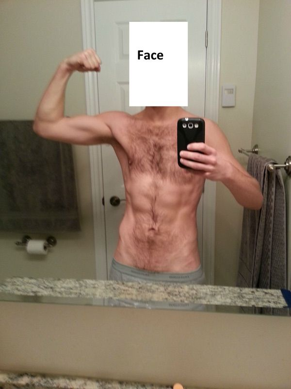 3 Photos of a 148 lbs 5'8 Male Fitness Inspo