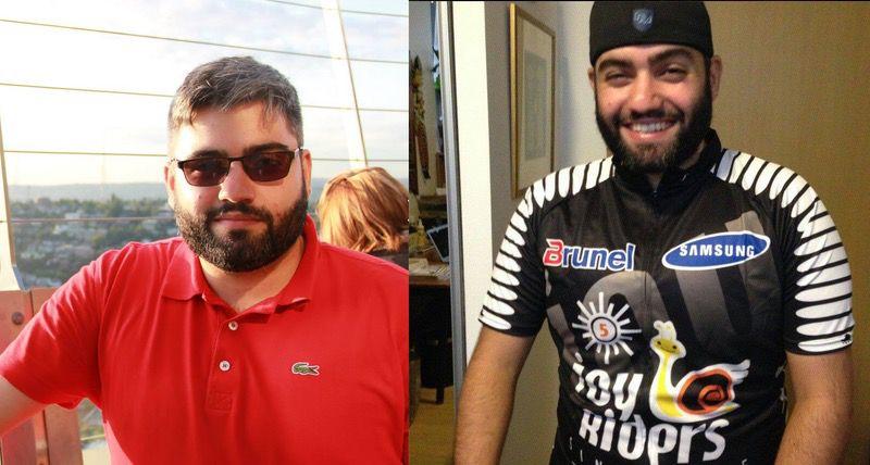 36 lbs Fat Loss 5'8 Male 249 lbs to 213 lbs