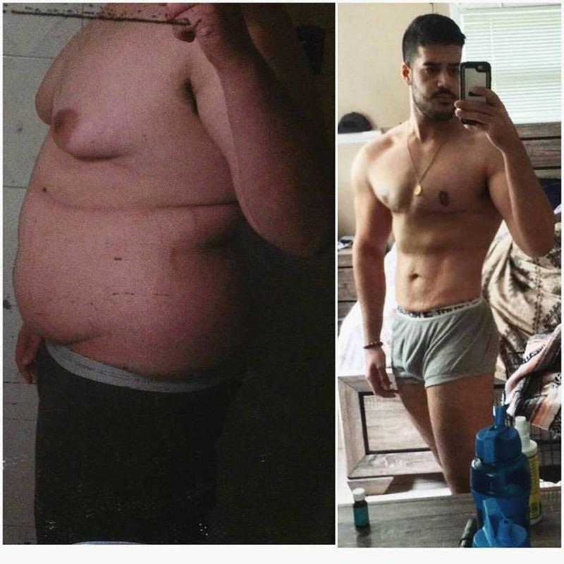 6'2 Male Progress Pics of 145 lbs Weight Loss 350 lbs to 205 lbs