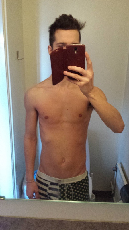 5 foot 8 Male Before and After 25 lbs Weight Gain 120 lbs to 145 lbs