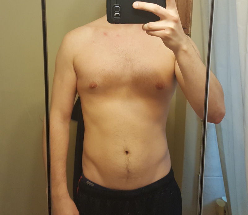 1 Pictures of a 5 foot 11 169 lbs Male Fitness Inspo