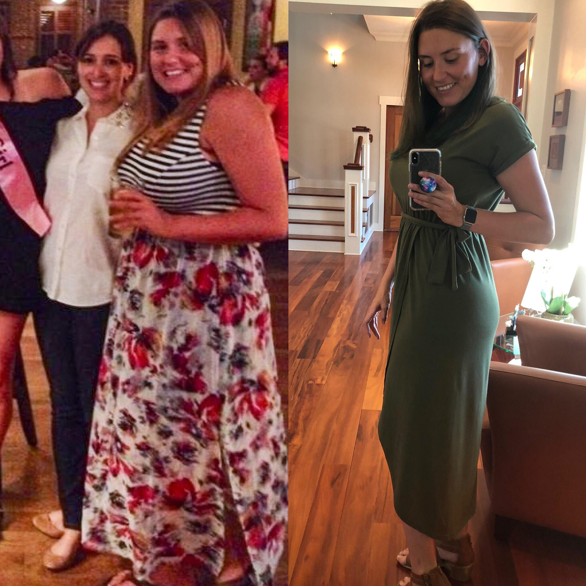 35 lbs Weight Loss 5 foot 9 Female 205 lbs to 170 lbs