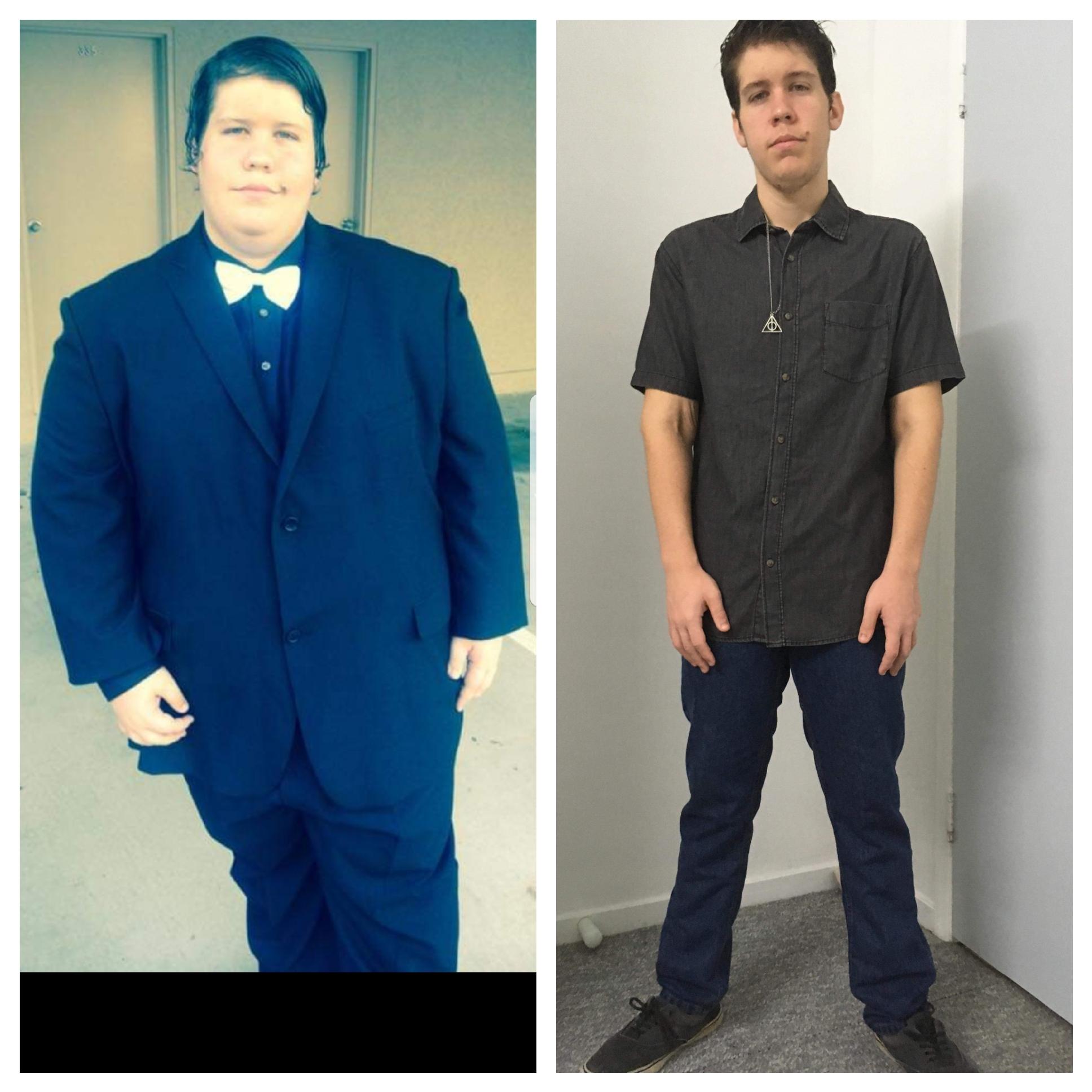 5 feet 8 Male 243 lbs Weight Loss 402 lbs to 159 lbs