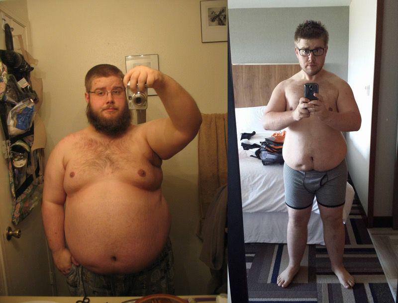 5'9 Male 116 lbs Weight Loss 365 lbs to 249 lbs