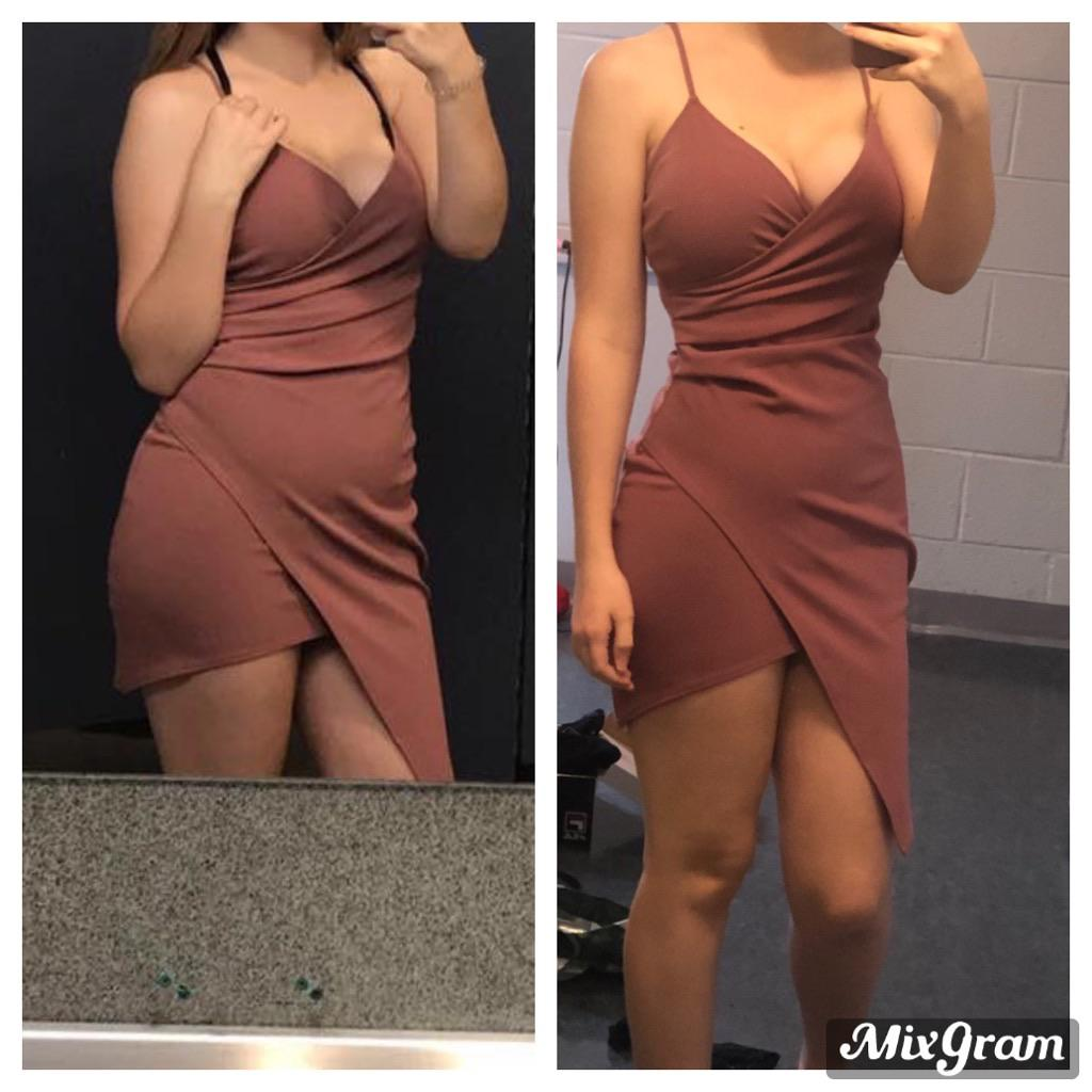 17 lbs Weight Loss Before and After 5'4 Female 165 lbs to 148 lbs