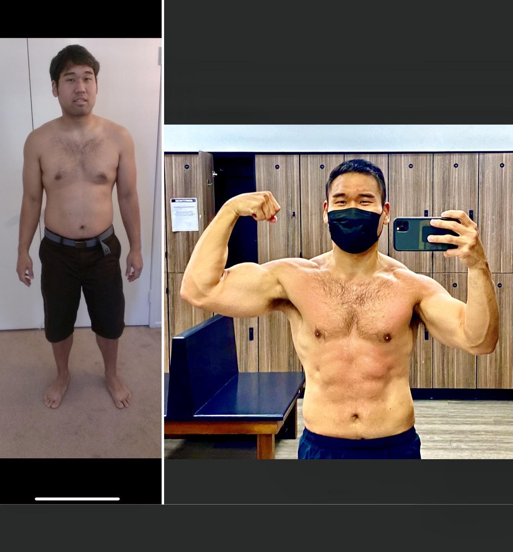 Progress Pics of 60 lbs Weight Loss 5 foot 9 Male 235 lbs to 175 lbs
