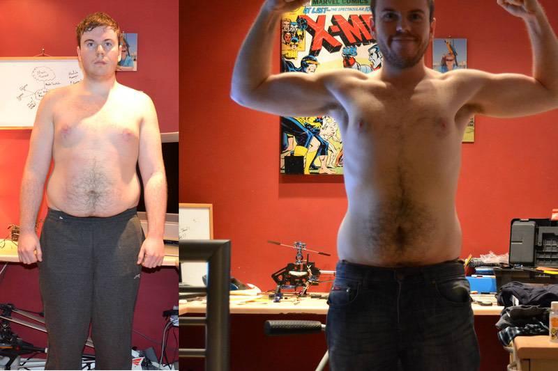 Progress Pics of 77 lbs Fat Loss 5 feet 9 Male 246 lbs to 169 lbs