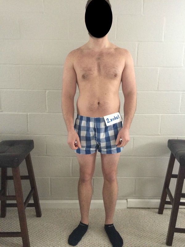 3 Pics of a 179 lbs 5'11 Male Weight Snapshot