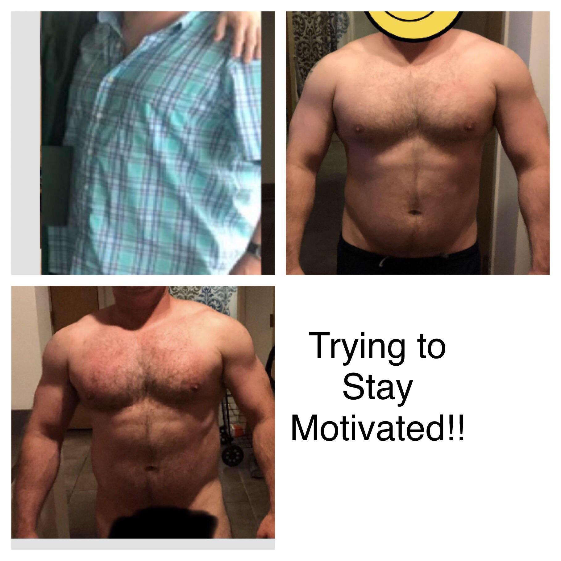 5'9 Male Before and After 17 lbs Fat Loss 240 lbs to 223 lbs
