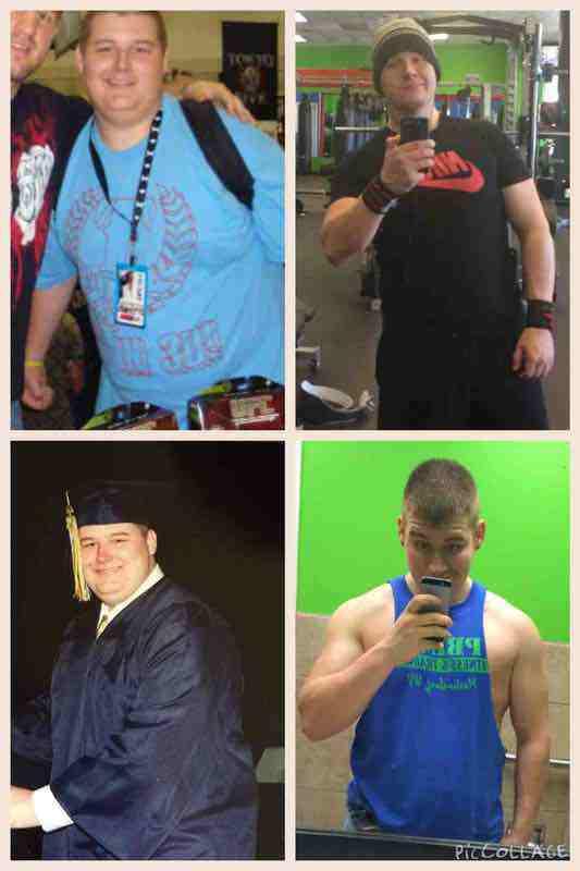 100 lbs Weight Loss 6'2 Male 310 lbs to 210 lbs
