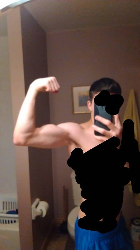25 lbs Weight Gain 5 foot Male 110 lbs to 135 lbs