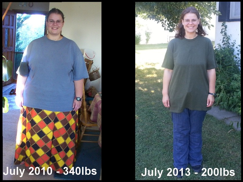 5 feet 6 Female 140 lbs Weight Loss Before and After 340 lbs to 200 lbs