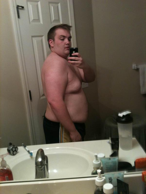 146 lbs Fat Loss Before and After 5 feet 7 Male 305 lbs to 159 lbs