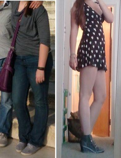 Progress Pics of 25 lbs Weight Loss 5 feet 8 Female 180 lbs to 155 lbs