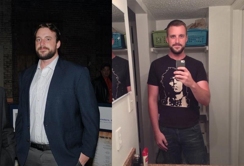 6'3 Male Progress Pics of 68 lbs Fat Loss 288 lbs to 220 lbs