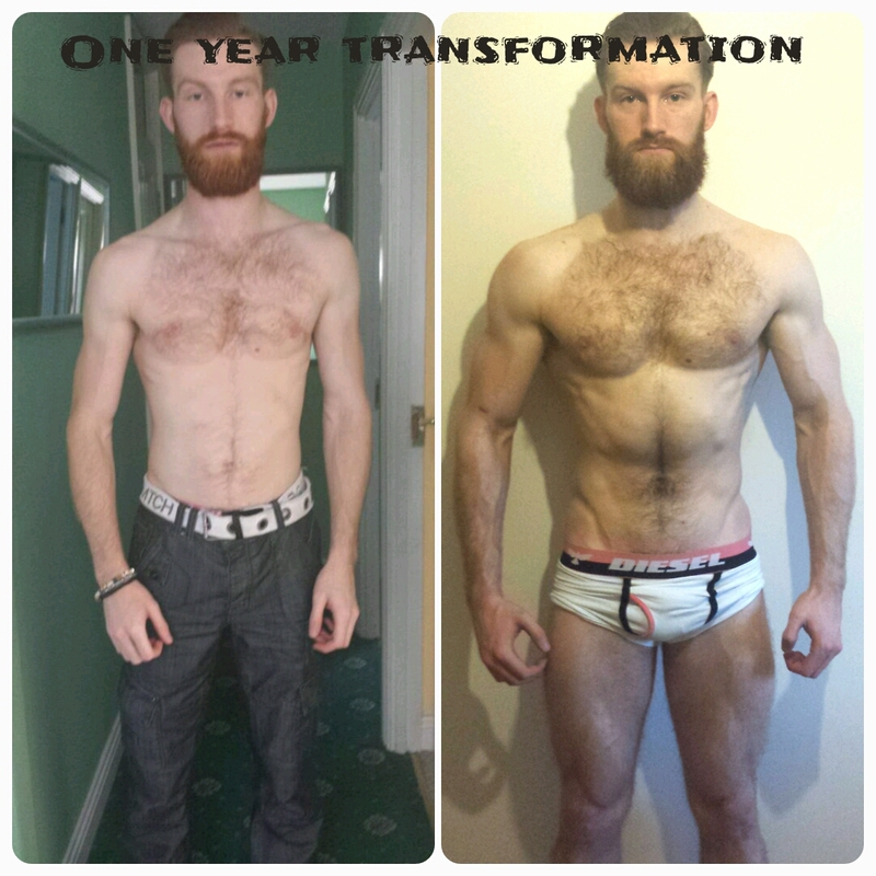 5'11 Male 24 lbs Muscle Gain 132 lbs to 156 lbs