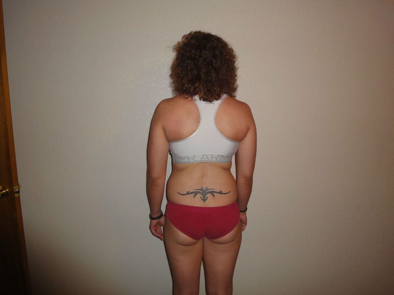 3 Pictures of a 141 lbs 5 feet 5 Female Weight Snapshot