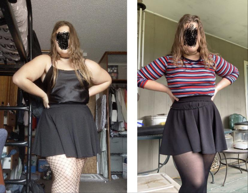 25 lbs Weight Loss 5 foot 5 Female 220 lbs to 195 lbs