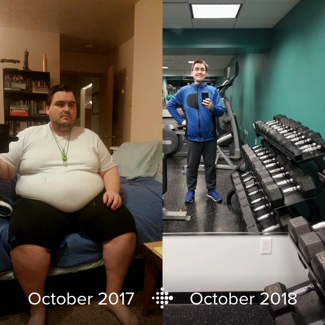 196 lbs Fat Loss 5 foot 9 Male 390 lbs to 194 lbs