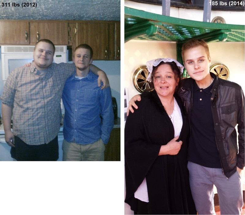 6 feet 2 Male Progress Pics of 126 lbs Fat Loss 311 lbs to 185 lbs