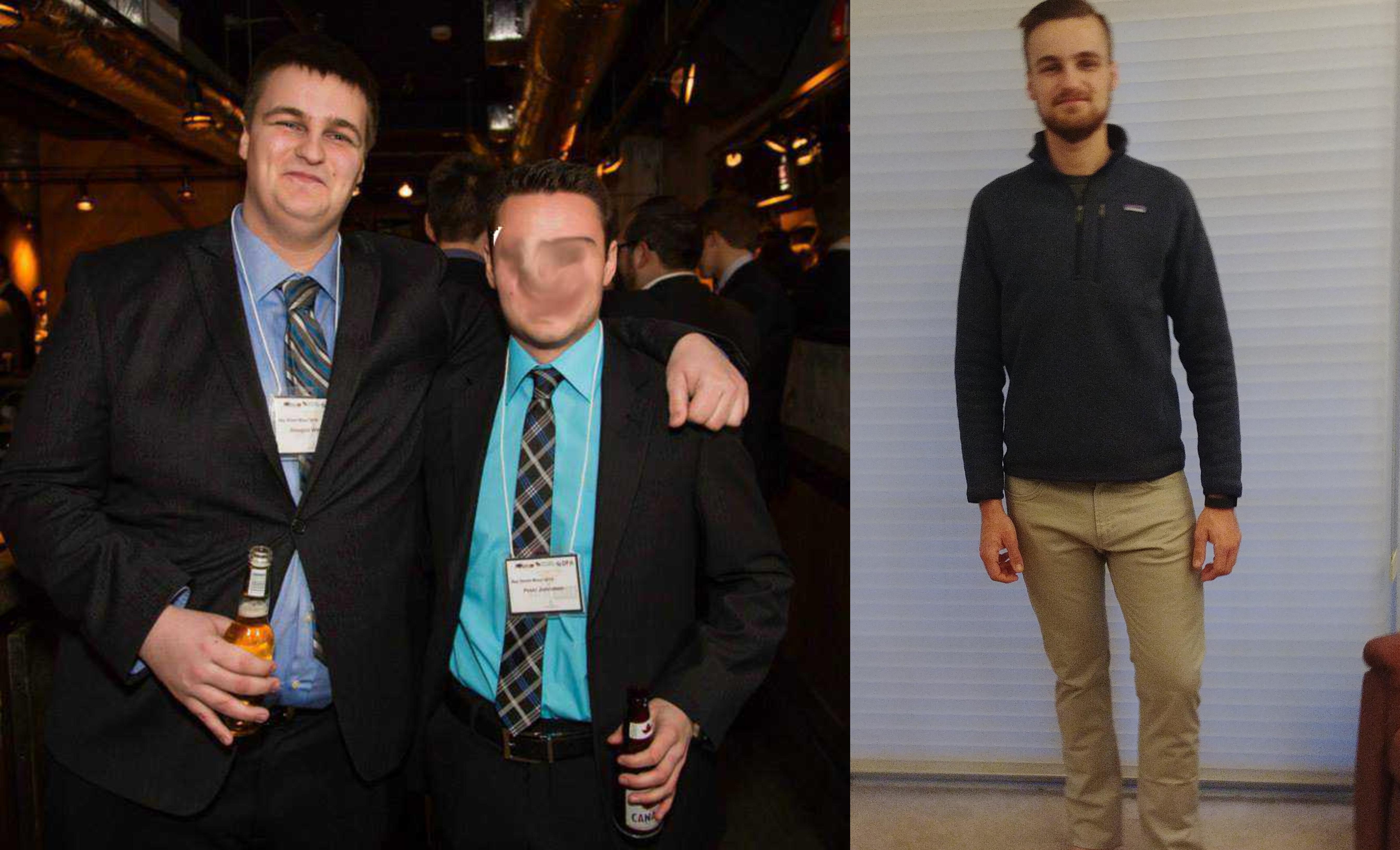 6'2 Male Progress Pics of 159 lbs Weight Loss 340 lbs to 181 lbs