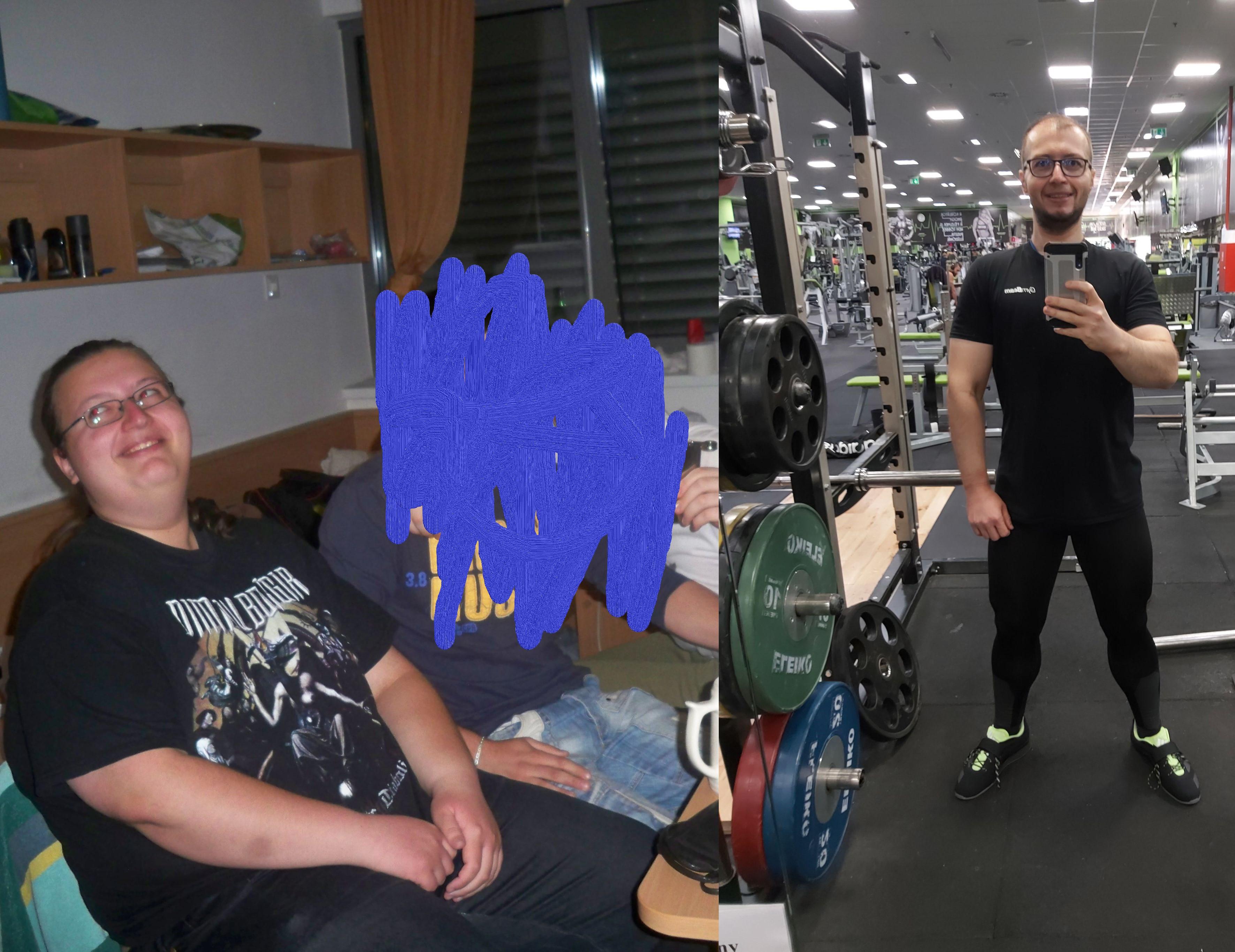 5 feet 10 Male 134 lbs Weight Loss 330 lbs to 196 lbs