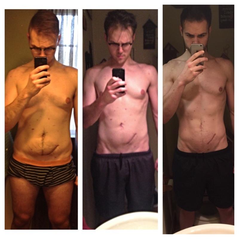 6 foot 5 Male Progress Pics of 32 lbs Fat Loss 250 lbs to 218 lbs