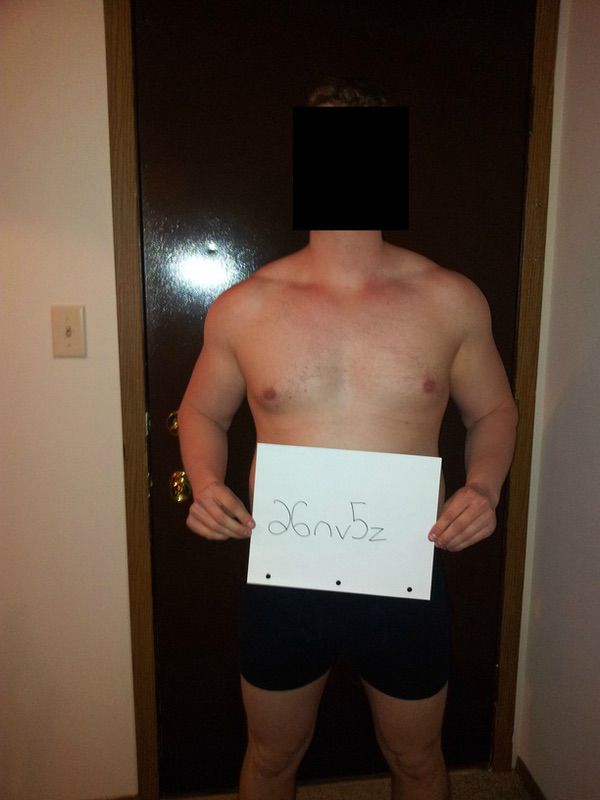 1 Photo of a 5 foot 8 180 lbs Male Fitness Inspo