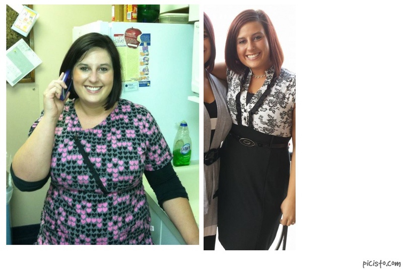 5 feet 1 Female Before and After 49 lbs Weight Loss 209 lbs to 160 lbs