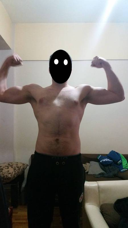 Before and After 26 lbs Weight Loss 6 feet 1 Male 202 lbs to 176 lbs