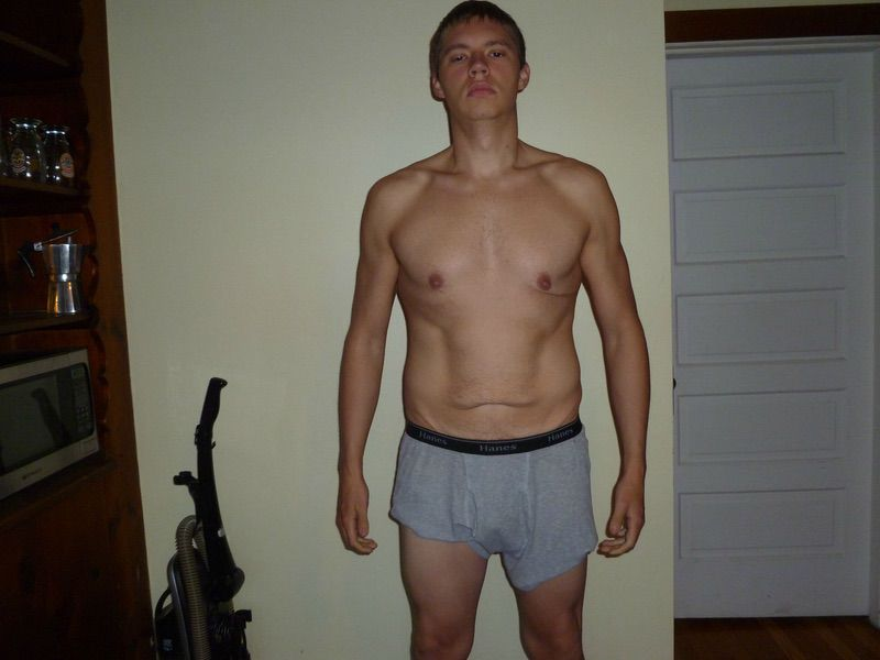5 Pics of a 189 lbs 6 foot Male Weight Snapshot