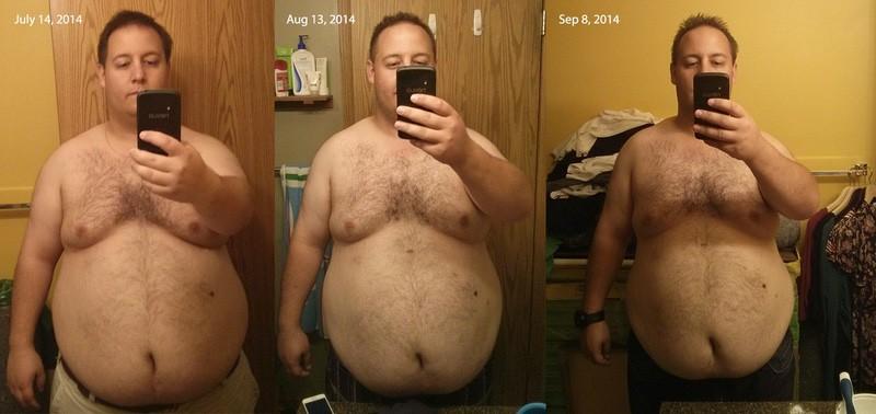 5 foot 7 Male Progress Pics of 20 lbs Weight Loss 310 lbs to 290 lbs