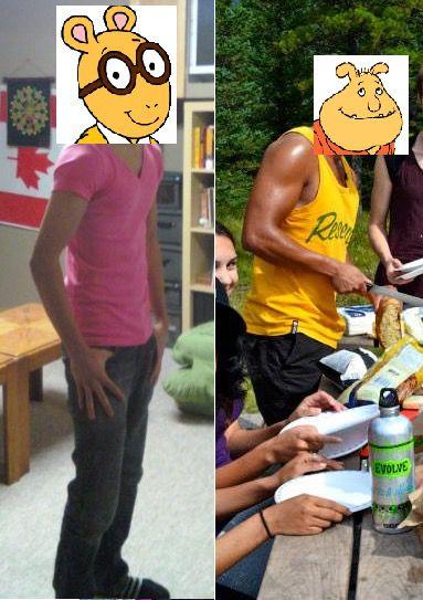 35 lbs Weight Gain 5'10 Male 125 lbs to 160 lbs